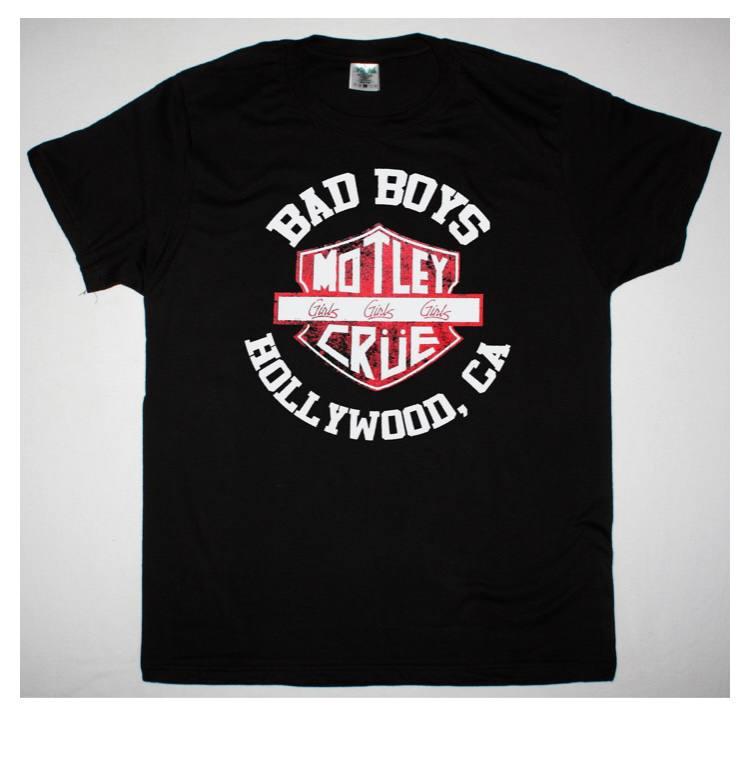 Bad Boys - Motley Crüe Polo Importado