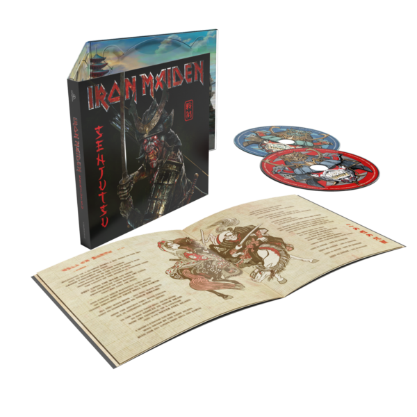 Iron Maiden - Senjutsu 2CDs