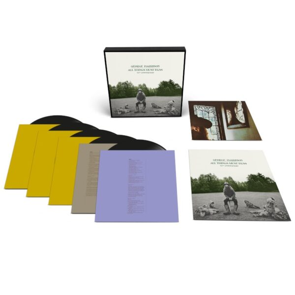 George Harrison - All Things Must Pass (50th Anniversary) 5LPs Boxset
