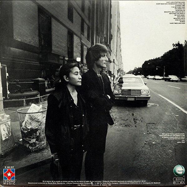 John Lennon & Yoko Ono - Double Fantasy LP de Época