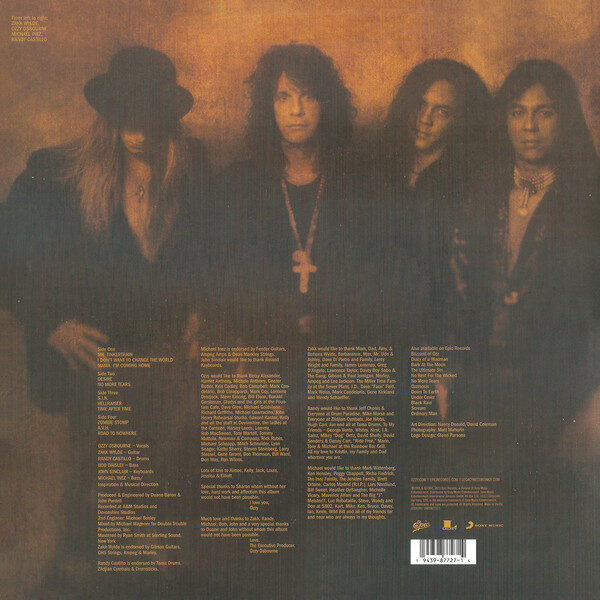 Ozzy Osbourne - No More Tears 2LPs