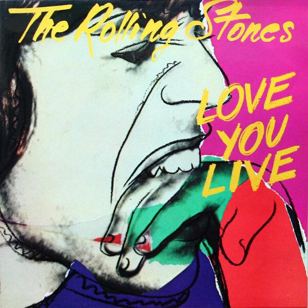 The Rolling Stones - Love You Live 2LPs de Época
