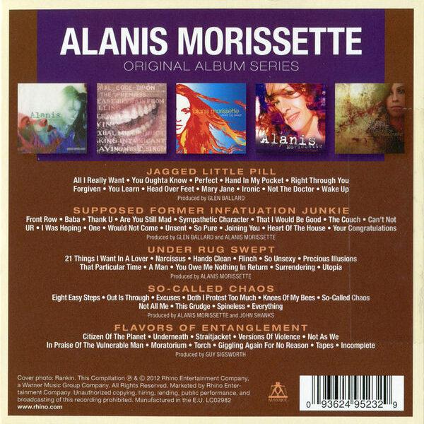Alanis Morissette - Original Album Series 5CDs