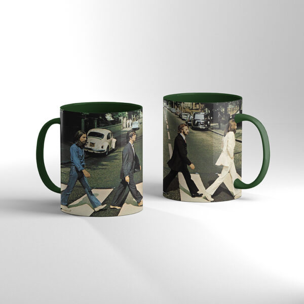 The Beatles - Abbey Road TAZA Color verde